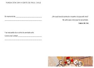 coronas de caridad fundación san vicente de paul