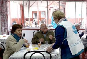 se voluntario de fundación san vicente de paul