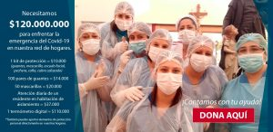 campaña covid 19 fundación san vicente de paul