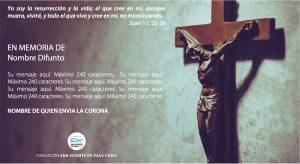 coronas de caridad virtuales fundación san vicente de paul